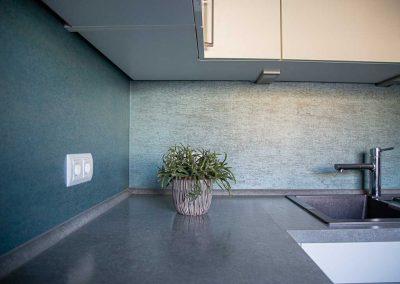 Malerarbeiten für Küchenrückwände
